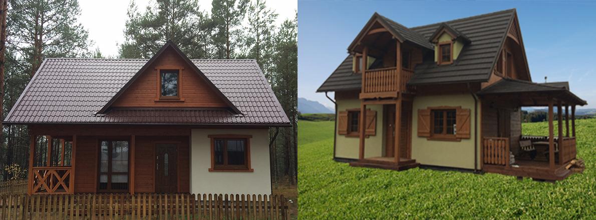 Drewniane domki całoroczne